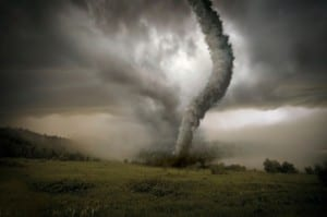Tornado-weather and binge eating